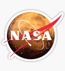 NASA Mars Weltraumforschung Sticker
