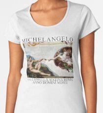 MICHELANGELO Women's Premium T-Shirt
