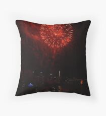 NYE Fireworks Sydney Throw Pillow