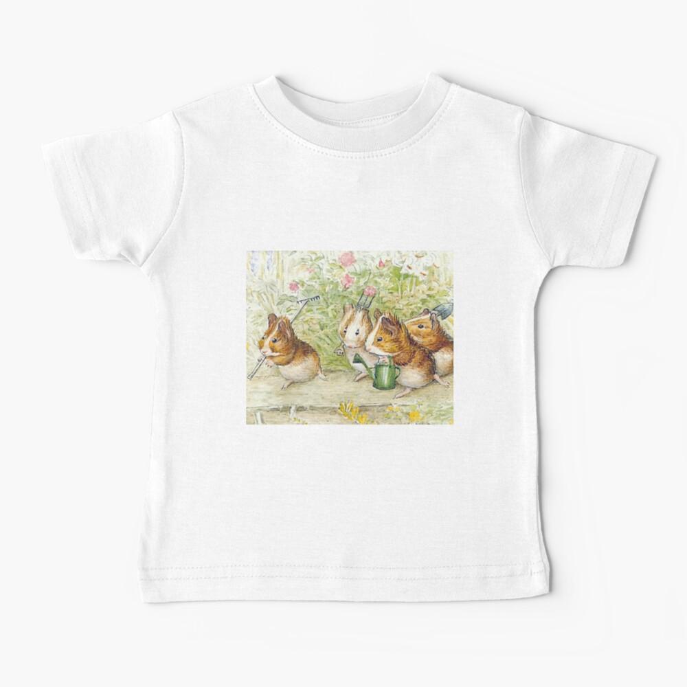 Guinea Pig Gardeners - Beatrix Potter Baby T-Shirt