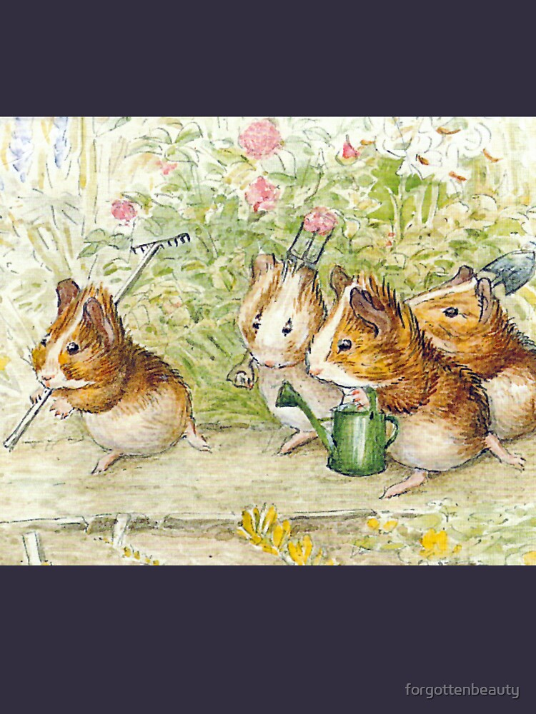Guinea Pig Gardeners - Beatrix Potter by forgottenbeauty