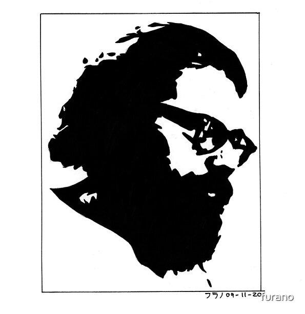 Allen Ginsberg by furano