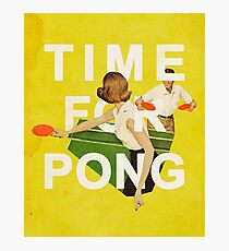 Time for Pong Photographic Print