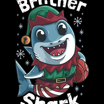 Brother Shark Christmas by B-Cubed-Shirts