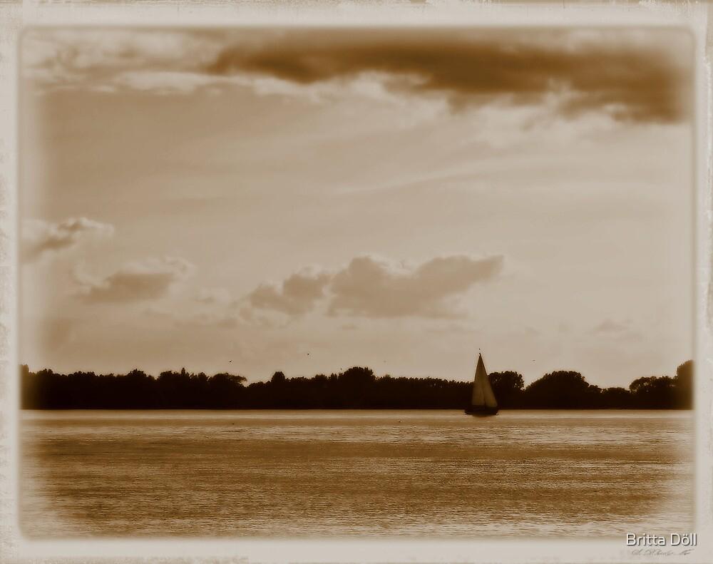 Sailing through times by Britta Döll