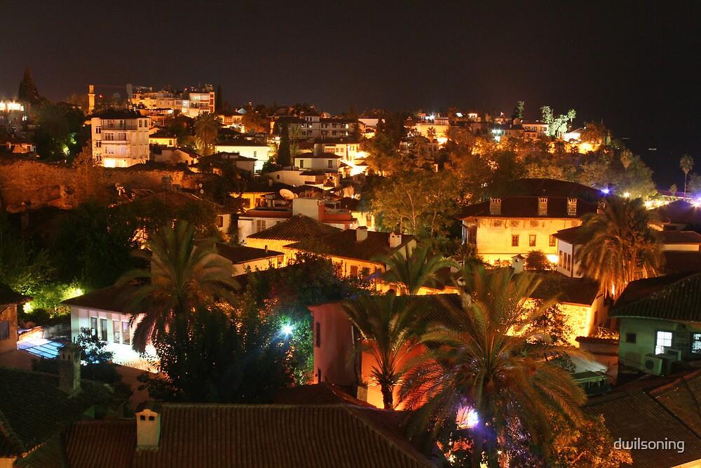 Antalya by Night by dwilsoning