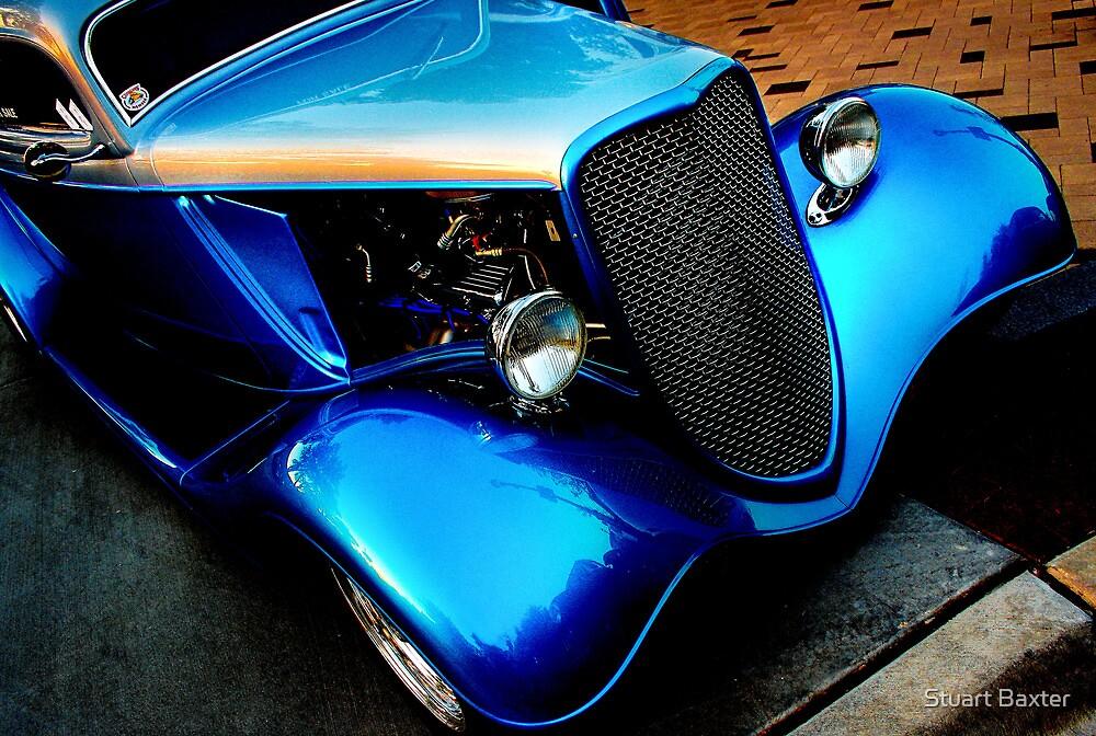 Silver N Blue by Stuart Baxter