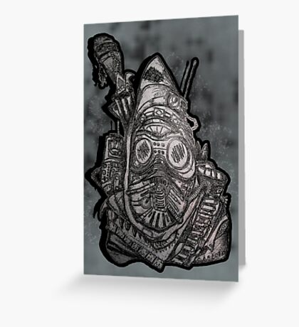 Bandit Raider Greeting Card