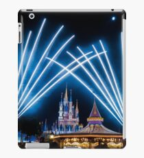 Just Do As Dreamers Do - Wishes Fireworks at Magic Kingdom iPad Case/Skin