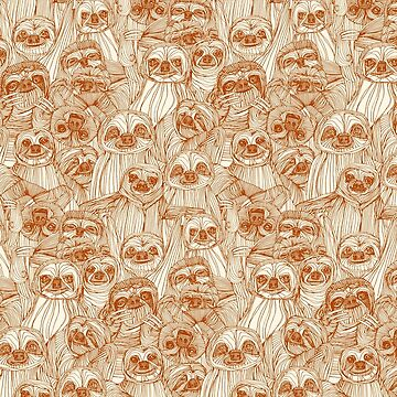 just sloths rust pearl by scrummy