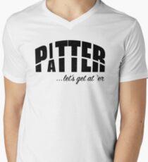 Pitter Patter T-Shirt mit V-Ausschnitt für Männer
