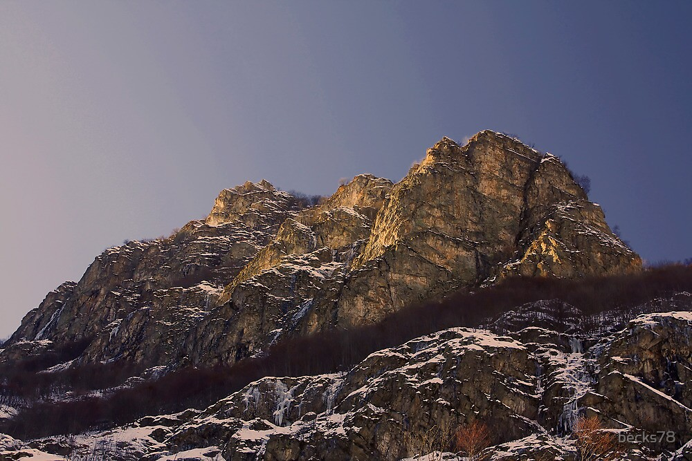 Italian Alps at sunrise by becks78