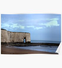 Storm clouds over Kingsgate Bay Poster