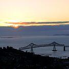Astoria-Megler Bridge Sunset by cjbenck