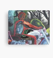 Mororcycle Ride Canvas Print