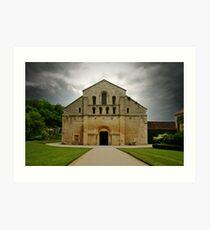Abbaye De Fontenay Art Print