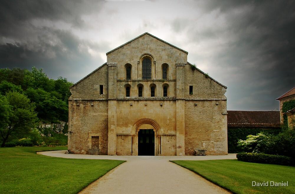 Abbaye De Fontenay by David Daniel