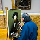 Re-creating A Masterpiece - Louvre, Paris by rjhphoto