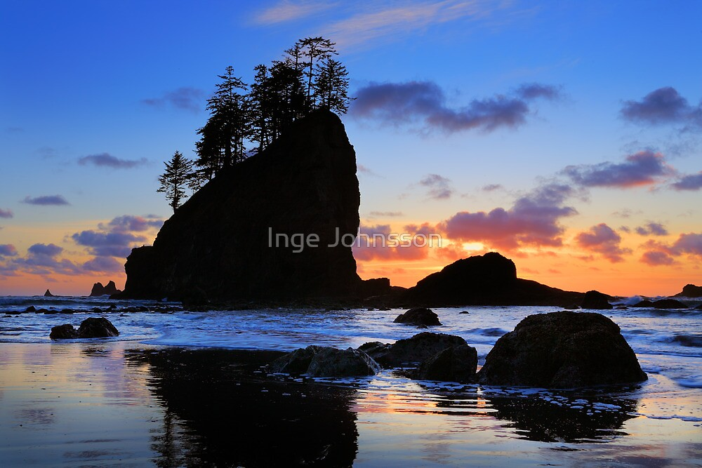 Second Beach by Inge Johnsson