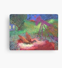 Bird On The Wing Canvas Print