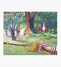 The Seven Muses Photographic Print