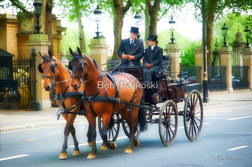 London Carriage  by Bob  Perkoski