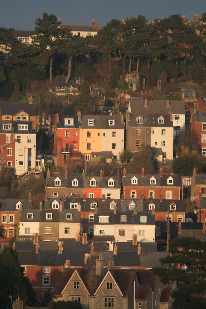 Stroud Houses by Jeff  Wilson