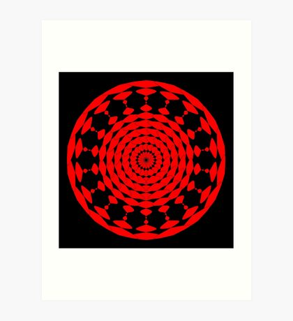 Mandala 001 Art Print