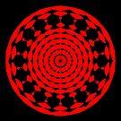 Mandala 001 by Rupert Russell