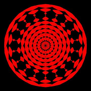 Mandala 001 by rupertrussell