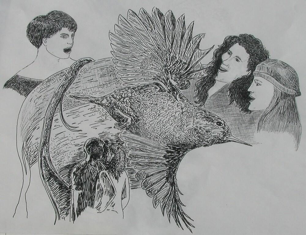 The Hummingbird by Dan  McNay
