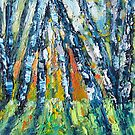 Silver Birch Forest by HelenBlair