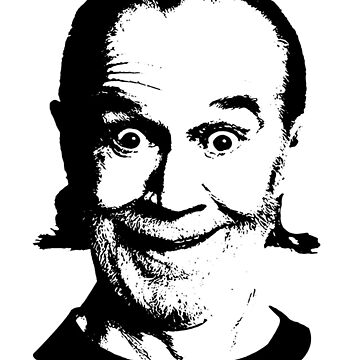 Comedy Legend George Carlin Goofing by SDParty