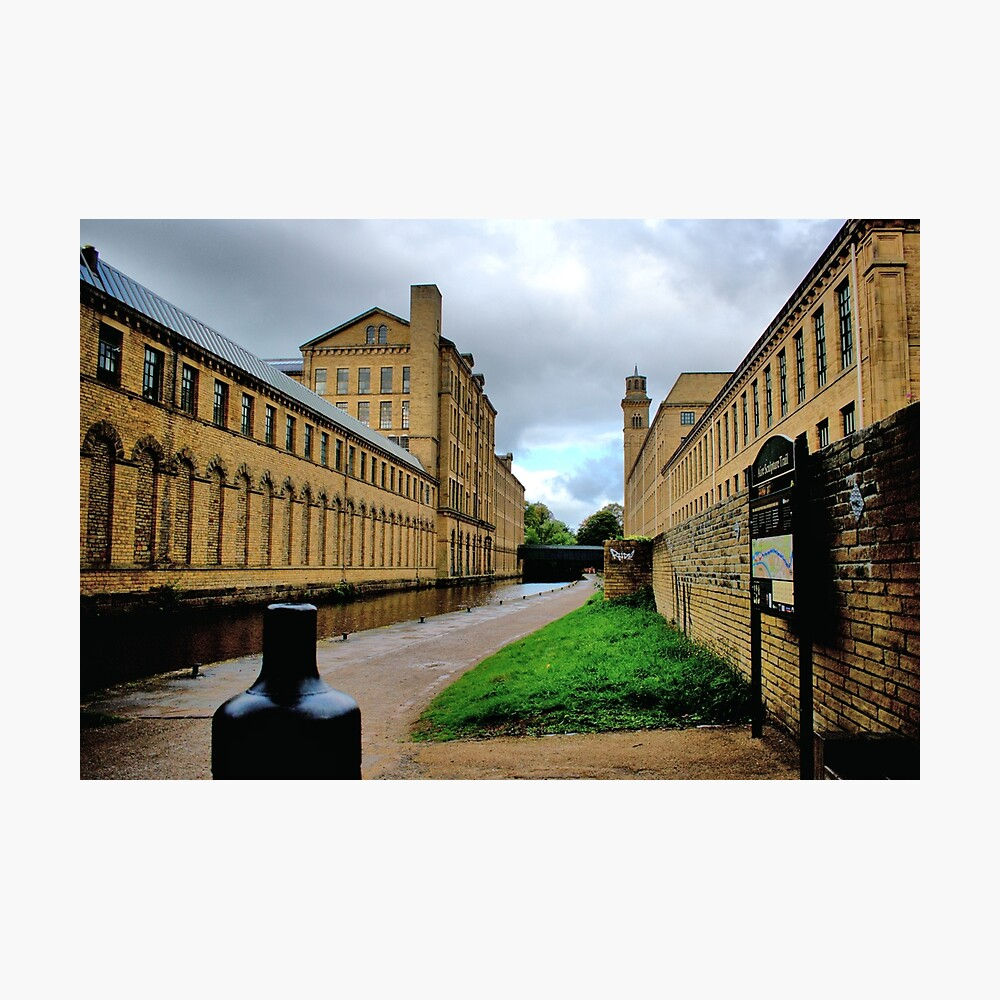 Saltaire, West Yorkshire. Photographic Print