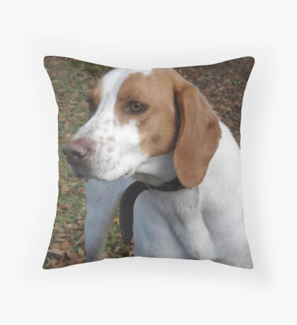 I think his name is 'Red'. Throw Pillow