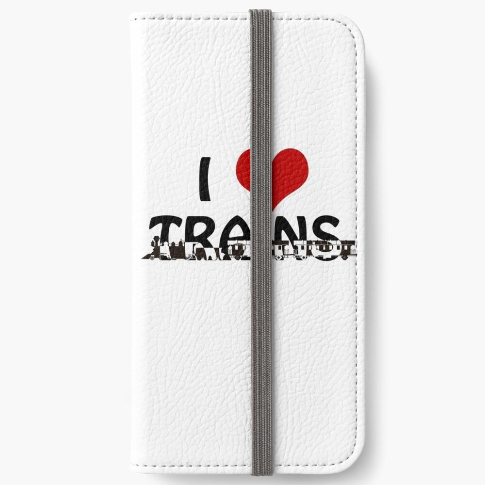 I love Trains iPhone Wallet