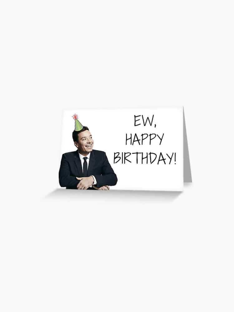 Jimmy Fallon Happy Birthday Quotes Gifts Presents Friends Boyfriend