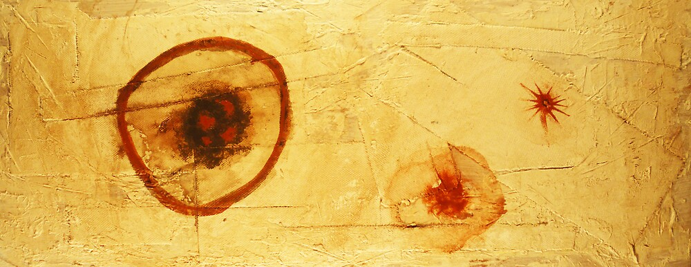 Bios Logos 2 - orignal acrylic abstact painting on canvas by Marco Sivieri