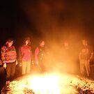 Fire Glow 1 by AuntieJ