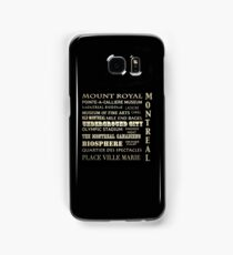 Montreal Quebec Famous Landmarks Samsung Galaxy Case/Skin