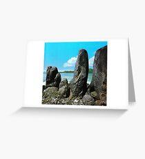 a historic Sao Tome and Principe landscape Greeting Card