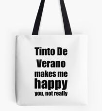 Tinto De Verano Cocktail Lover Funny Gift for Friend Alcohol Mixed Drink Tote Bag