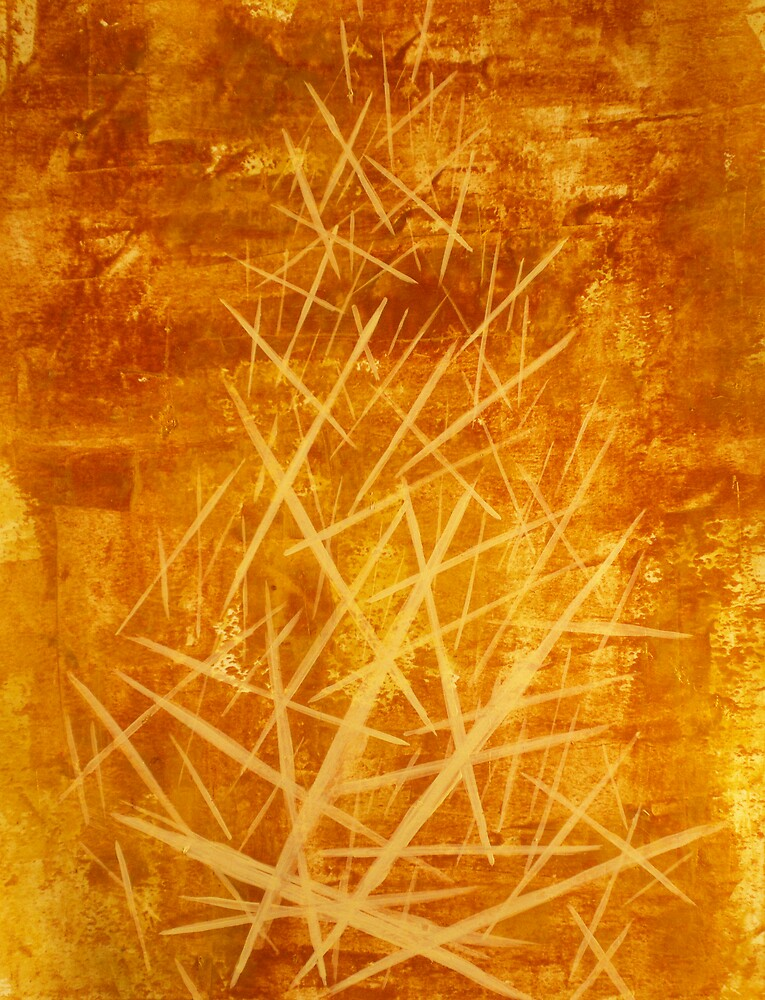 Ascending Tower - original abstract acrylic painting on canvas by Marco Sivieri