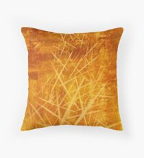 Ascending Tower - original abstract acrylic painting on canvas Throw Pillow