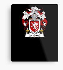 Escalante Coat of Arms - Family Crest Shirt Metal Print