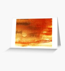 Thorns 2 - original acrylic abstract painting on canvas Greeting Card