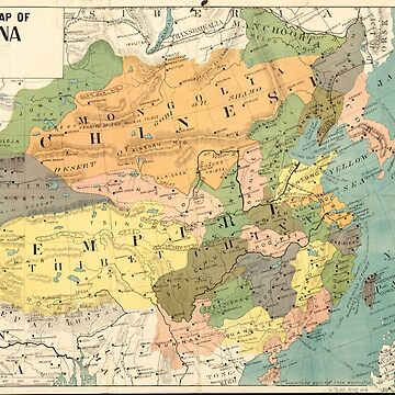 Map of China (1900) by allhistory