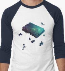 Constructing the Cosmos Men's Baseball ¾ T-Shirt