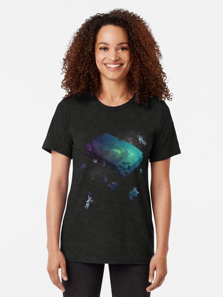 Alternative Ansicht von Den Kosmos konstruieren Vintage T-Shirt