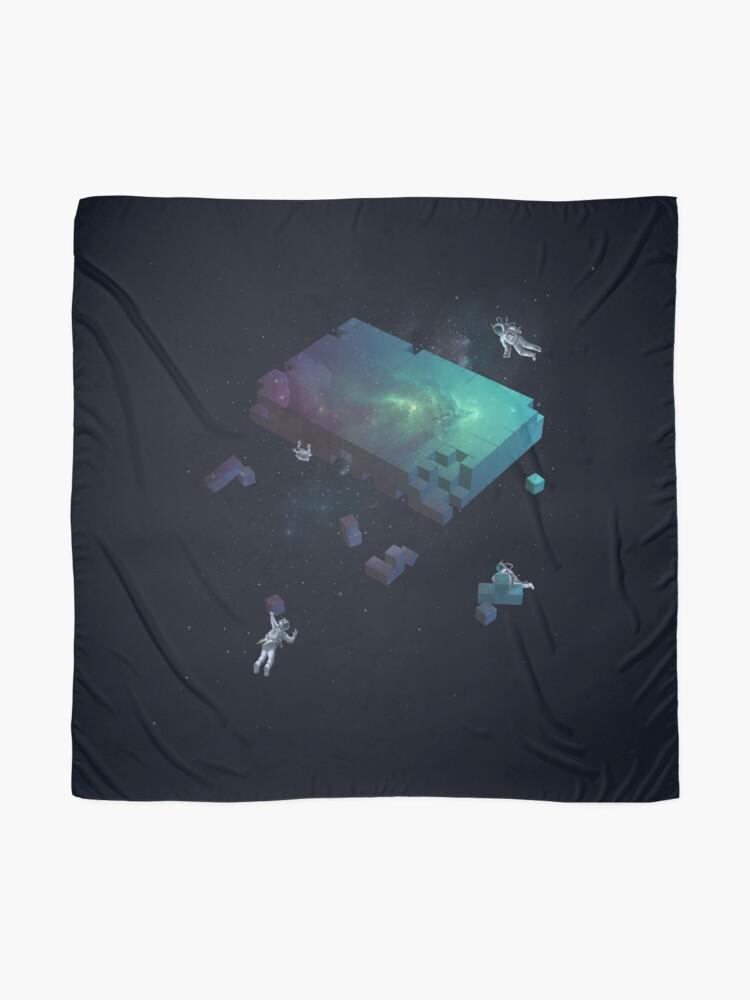 Alternative Ansicht von Den Kosmos konstruieren Tuch